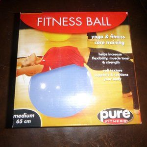 "Pure Fitness Yoga Pilates Ball Size Medium 26"" NIB"